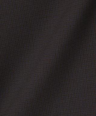 J.PRESS LADIES L 【洗える】肌に優しいアルガンシルクチェック ワイドパンツ ネイビー系3