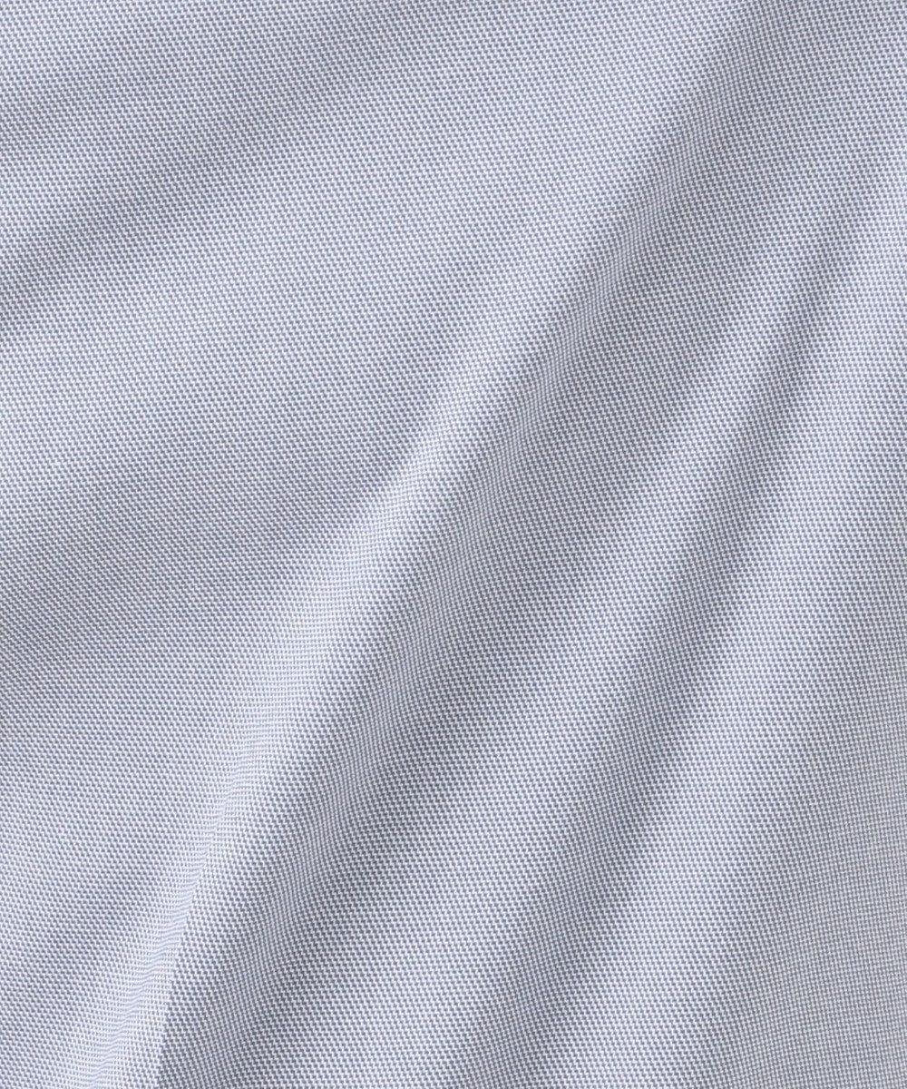 J.PRESS LADIES 【洗える・WEB限定色あり】コットンFITTYシャーク クロップド パンツ [WEB限定]ブルー系