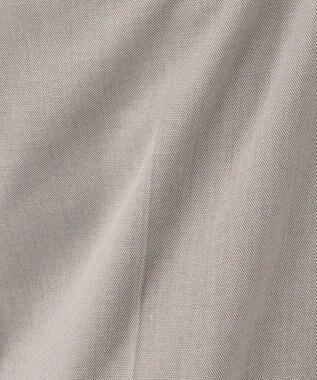 J.PRESS LADIES 【洗える・WEB限定色あり】コットンFITTYシャーク クロップド パンツ ブラウン系