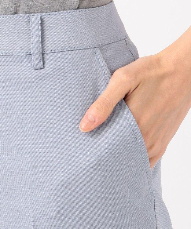 J.PRESS LADIES 【洗える・WEB限定色あり】コットンFITTYシャーク クロップド パンツ