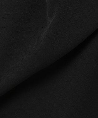 J.PRESS LADIES S 【ニオイ菌を抑える】ヴィーナスダブルクロス ガウチョパンツ ブラック系