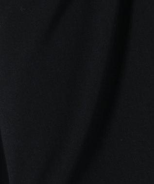 J.PRESS LADIES 【定番人気】50/2コンフォート ワイドクロップドパンツ ネイビー系