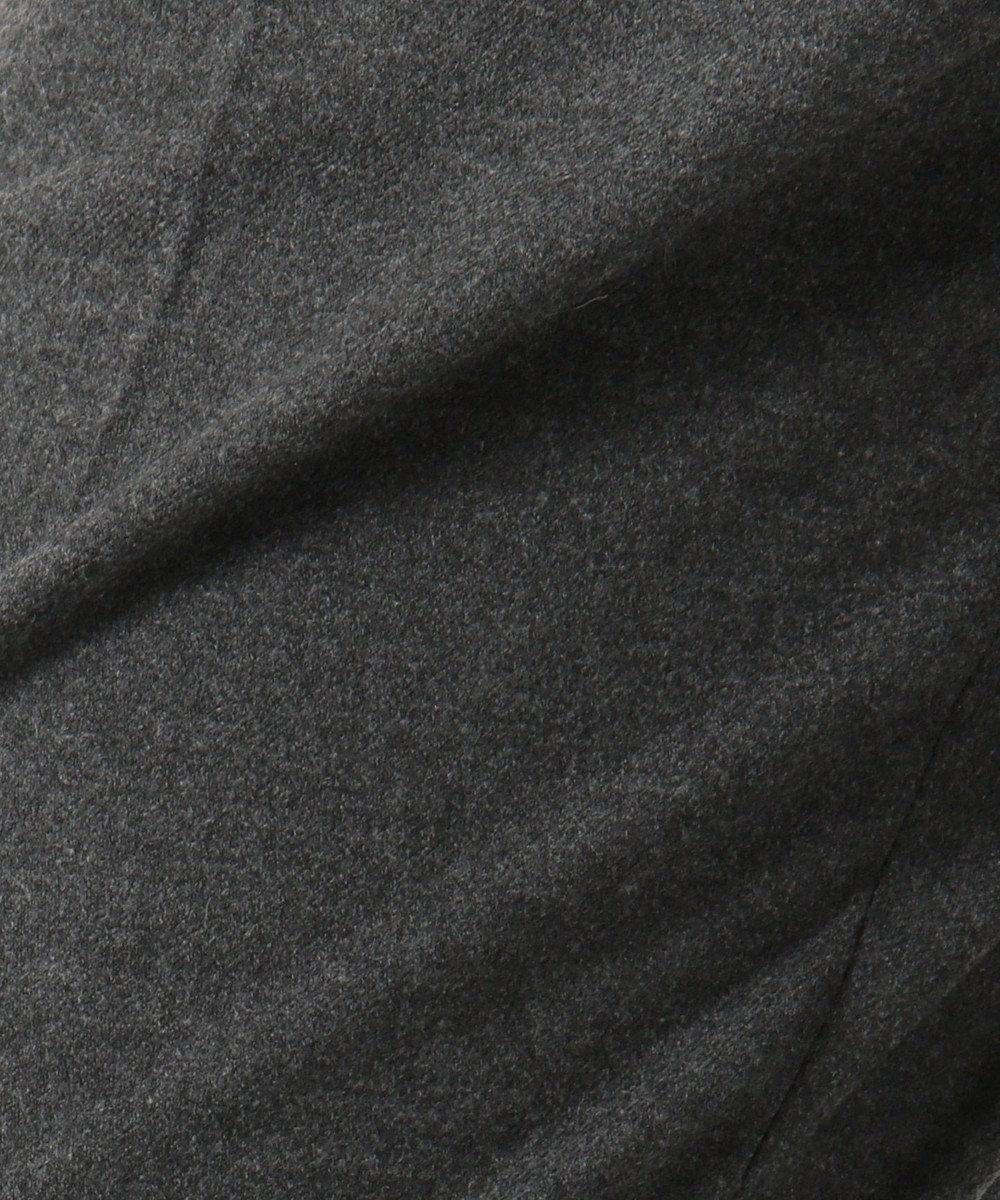 J.PRESS LADIES 【洗える】NEWチェルビック無地 テーパードパンツ グレー系