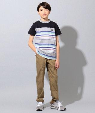 J.PRESS KIDS 【撥水・撥油/140-170cm】ナノウィング TCタイプライター パンツ ベージュ系
