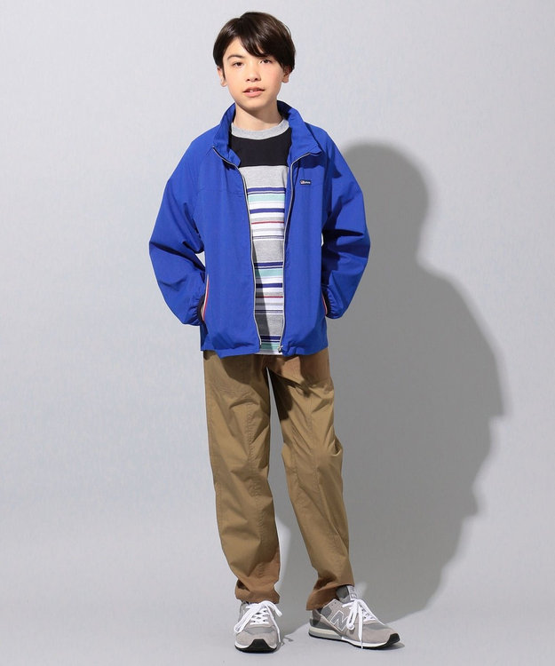 J.PRESS KIDS 【撥水・撥油/140-170cm】ナノウィング TCタイプライター パンツ