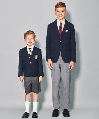 J.PRESS KIDS 【150-170cm】60/-モクロディ パンツ ブラック系