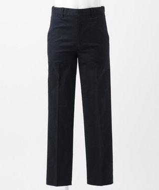 J.PRESS KIDS 【140-170cm】コットン ギャバストレッチ パンツ ネイビー系