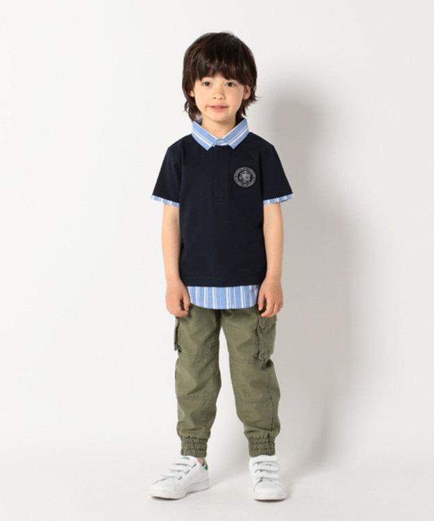 J.PRESS KIDS 【TODDLER】ムラ糸バックサテン パンツ