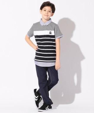 J.PRESS KIDS 【SCHOOL】ストレッチライトデニム パンツ ネイビー系
