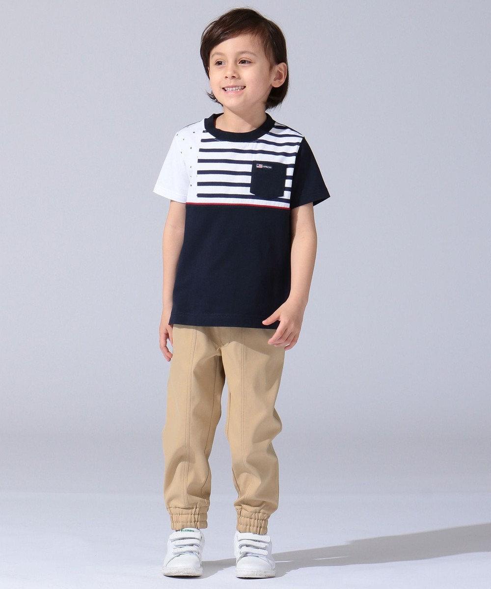 J.PRESS KIDS 【SCHOOL】撥水ストレッチ パンツ ベージュ系