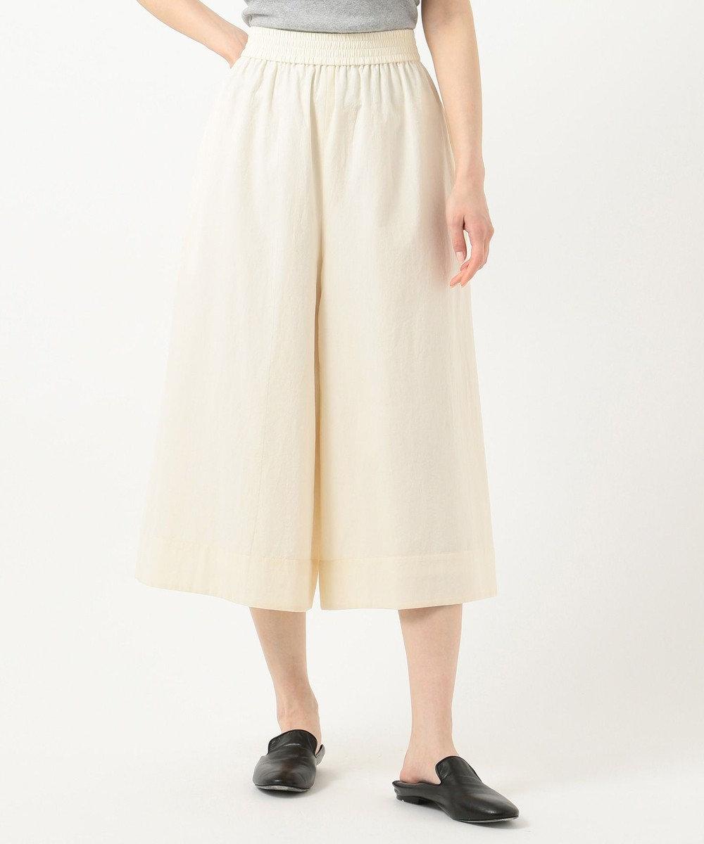 JOSEPH 【洗える】BAO / コットンクレープ パンツ ライトイエロー系