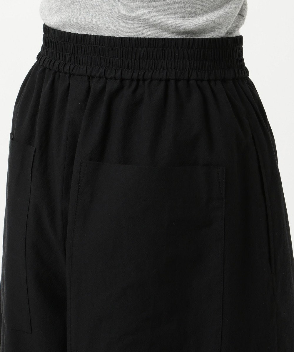 JOSEPH 【洗える】BAO / コットンクレープ パンツ ブラック系