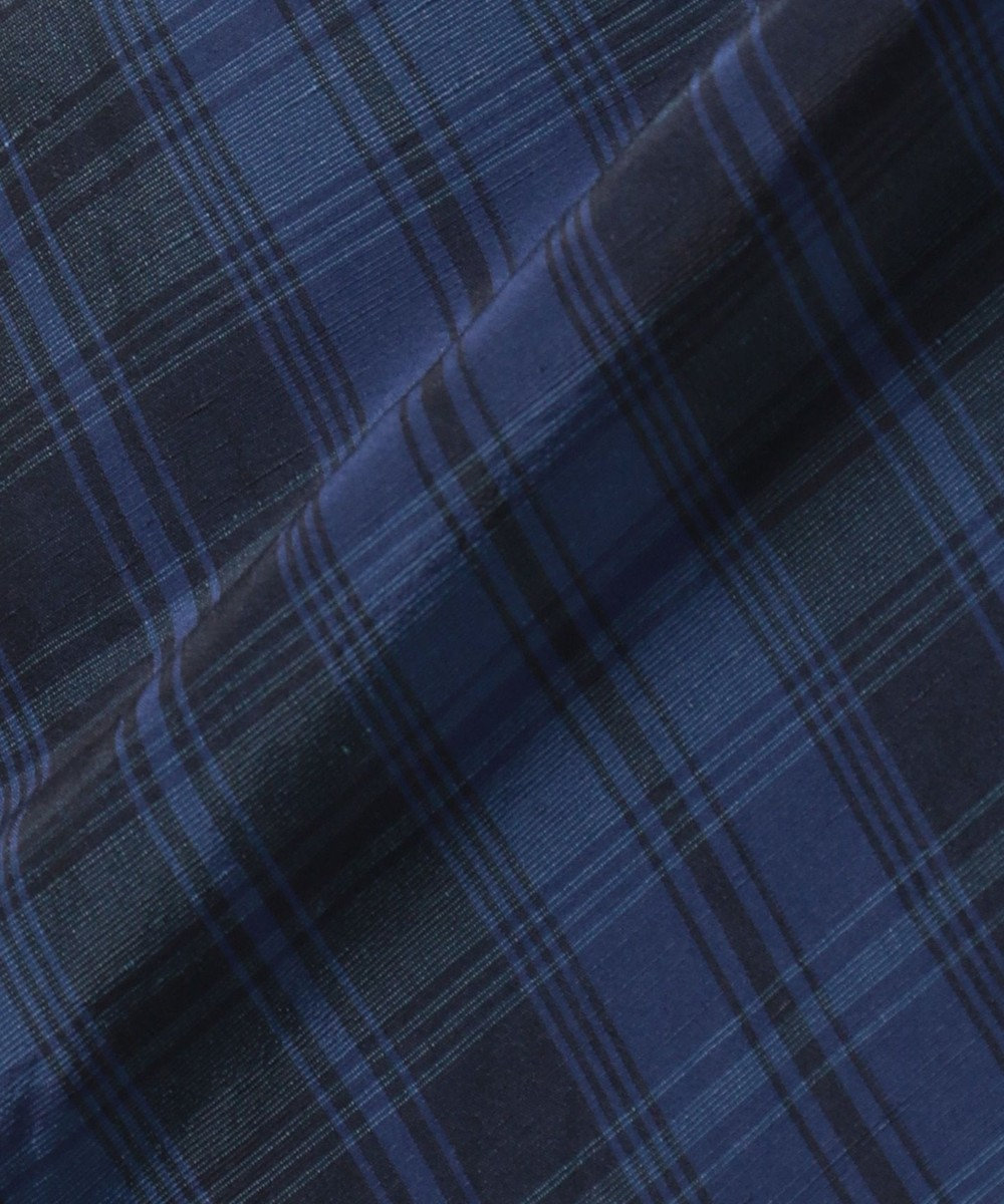 JOSEPH DOROTHEA / VISCOSE LINEN DIAGONAL パンツ ブルー系3