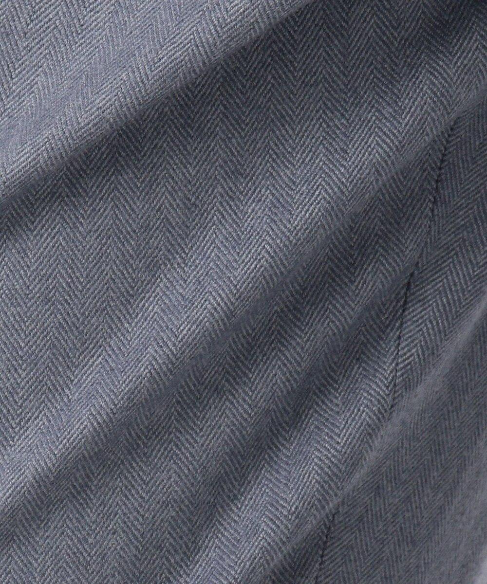 JOSEPH ZOOM LONG / SAXONY HERRINGBONE パンツ サックスブルー系7