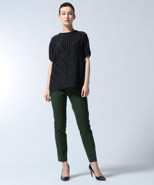 JOSEPH 【WEB限定】FINLEY / ギャバジンストレッチ パンツ オリーブ系