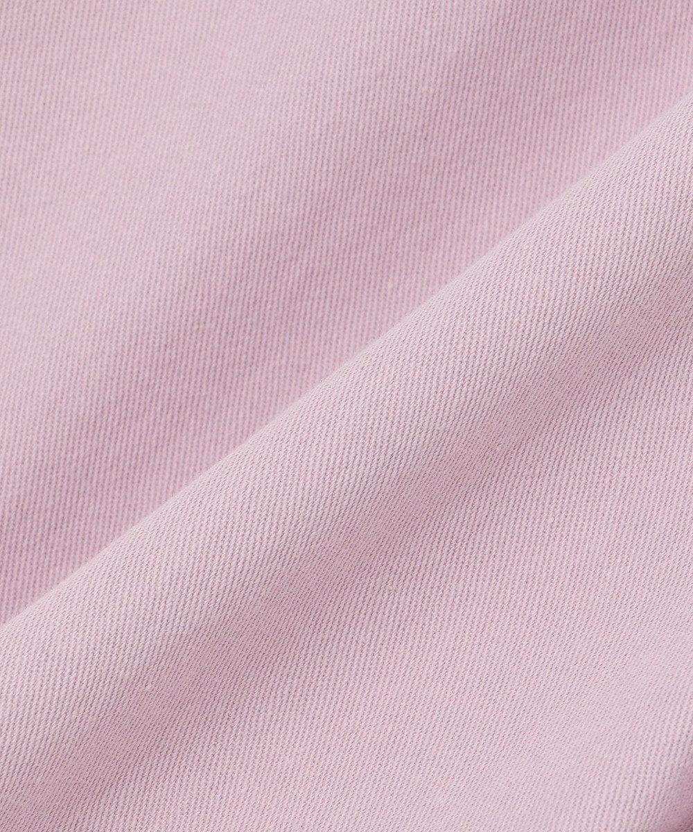 組曲 KIDS 【WEB限定カラー有/110-140cm】ペグトップデニムカラーパンツ ラベンダー系