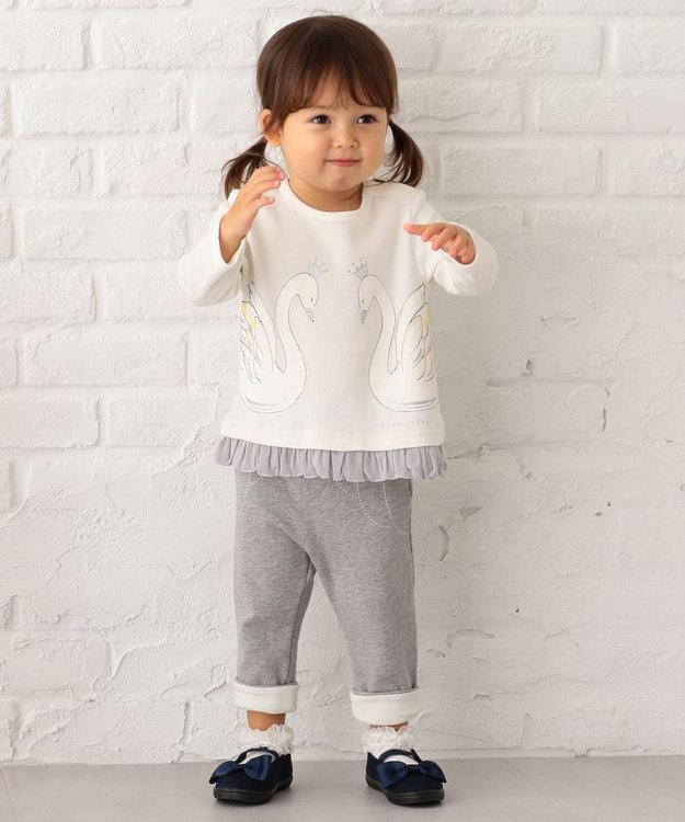 組曲 KIDS 【80~100cm】30/-ベア裏毛 パンツ