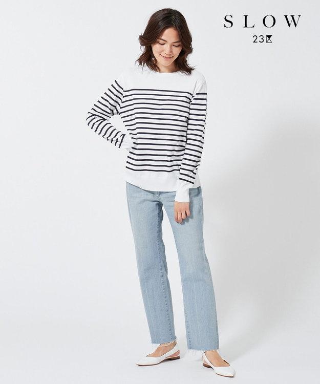23区 【SLOW】ストレートデニムパンツ