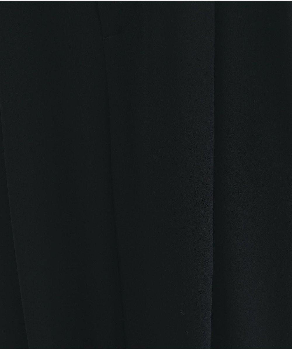 #Newans 【新色登場しました!】洗える&ノンアイロン / ジョーゼット2タックパンツ ブラック系