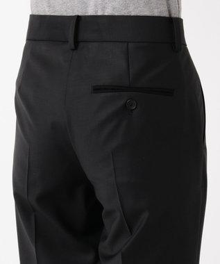 Paul Smith 【セットアップ対応】ソリッドブラックテーラリング パンツ BLACK