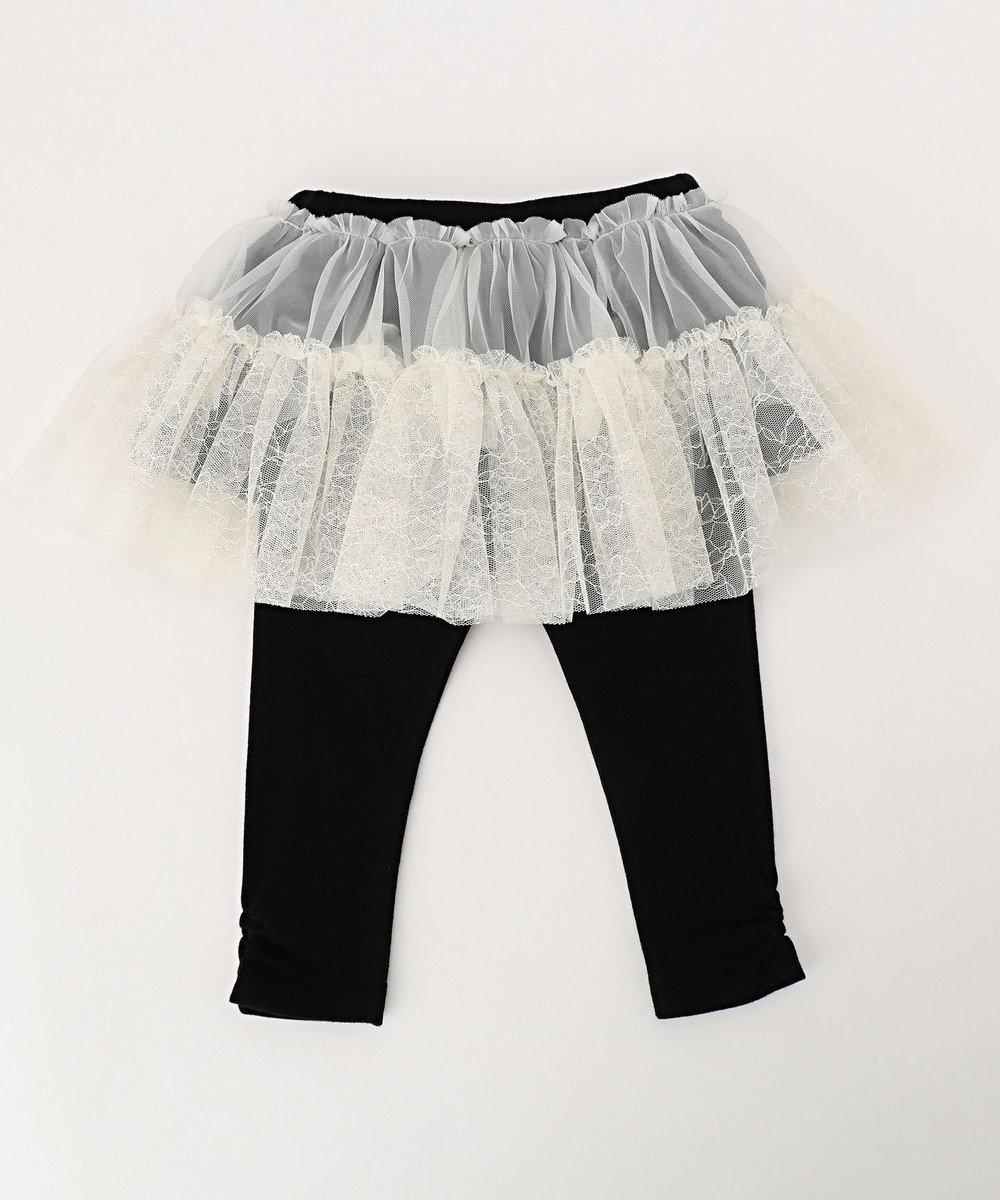 TOCCA BAMBINI 【BABY】フラワーチュチュスカッツ(スパッツ付きスカート) アイボリー系
