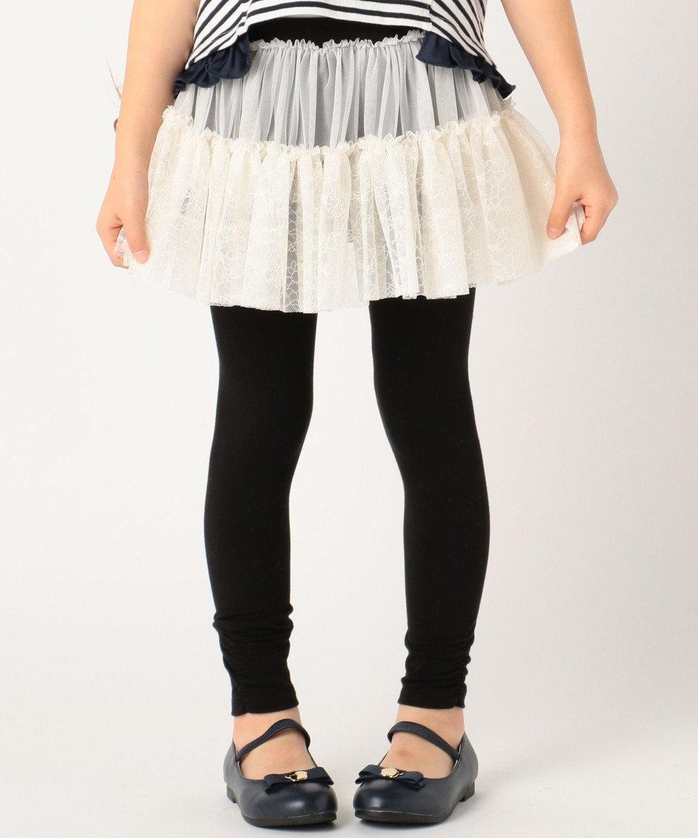 TOCCA BAMBINI 【KIDS】フラワーチュチュスカッツ(スパッツ付きスカート) アイボリー系