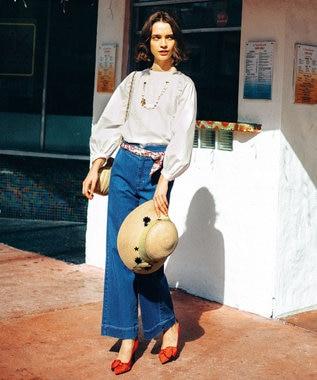 TOCCA 【洗える!】CARIBBEAN デニム パンツ ブルー系