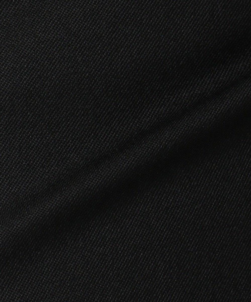 組曲 S 【洗える/セットアップ対応】ウォッシャブルウールストレッチ パンツ ブラック系