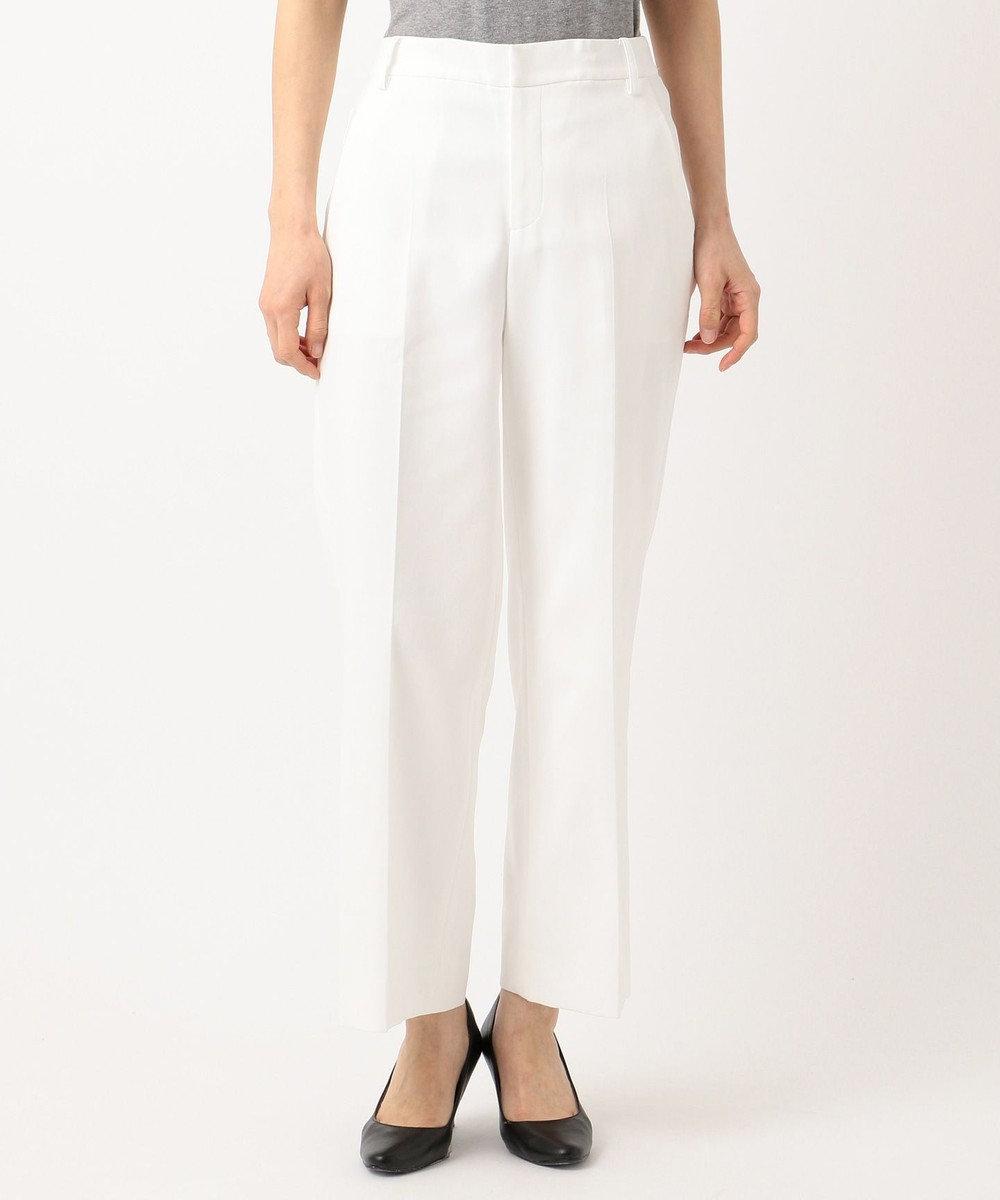自由区 【Class Lounge】DOUBLE CLOTH パンツ(検索番号Y57) ホワイト