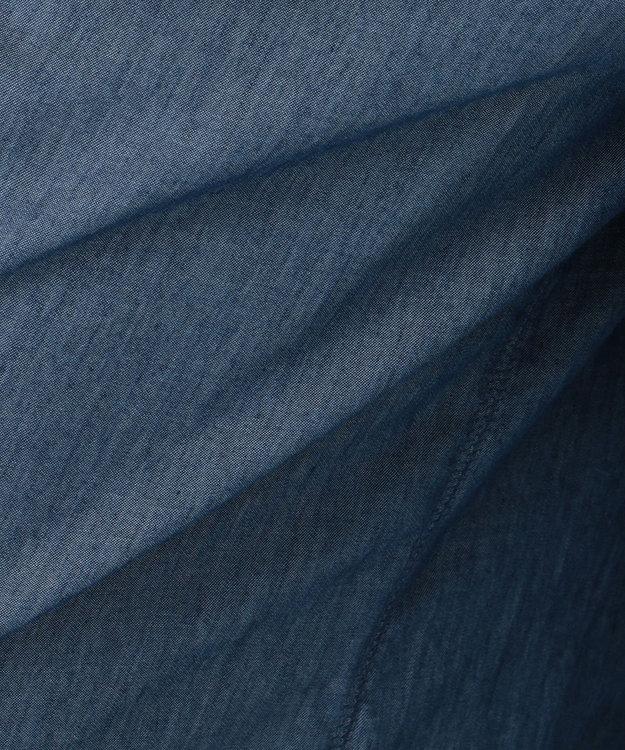 自由区 【マガジン掲載】BLUE ライトオンス デニムワイドパンツ(検索番号G32)