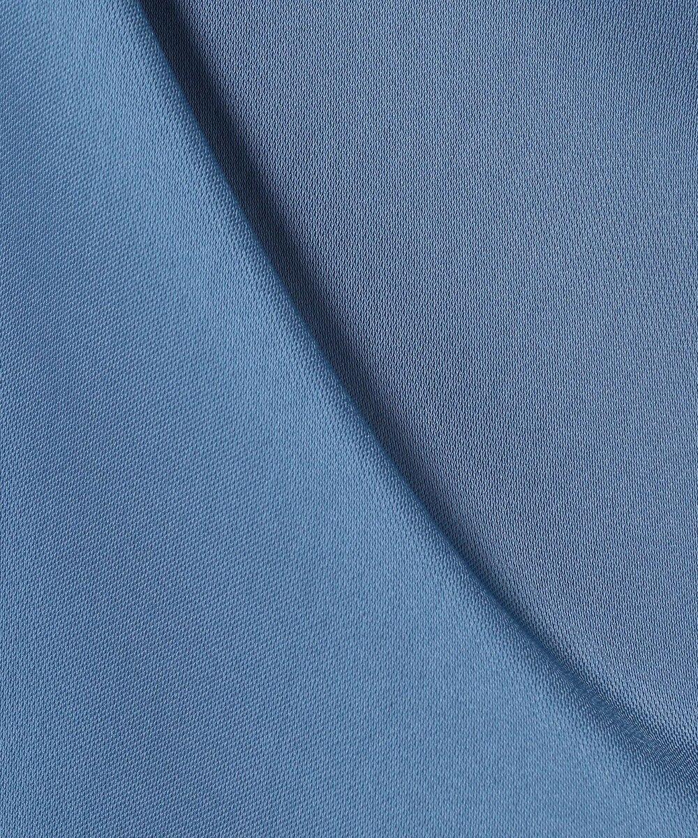 自由区 【Class Lounge】Vita Drape Satin ガウチョパンツ ダルブルー系