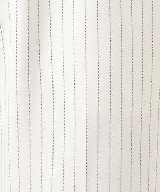自由区 【マガジン掲載】2WAYストレッチ テーパードパンツ(検索番号M55) ホワイト系ストライプ