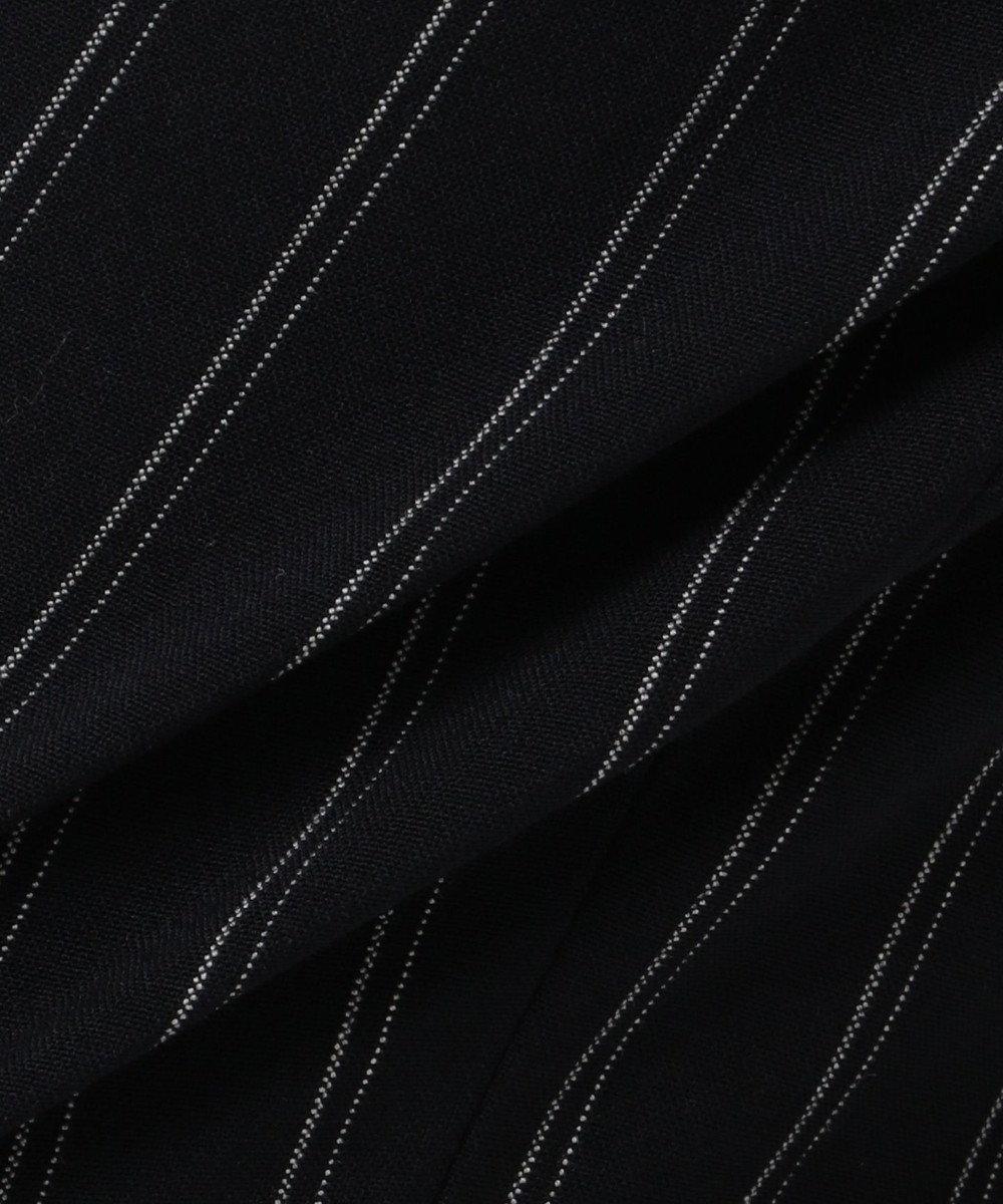 自由区 【マガジン掲載】2WAYストレッチ テーパードパンツ(検索番号C54) ネイビー系ストライプ