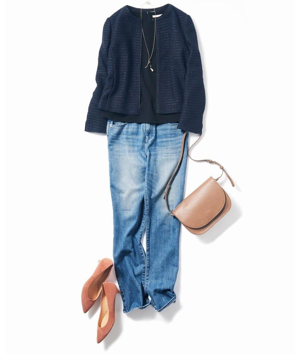 自由区 【亜希さん着用】モダンヴィンテージ デニムパンツ(検索番号C59) スカイブルー