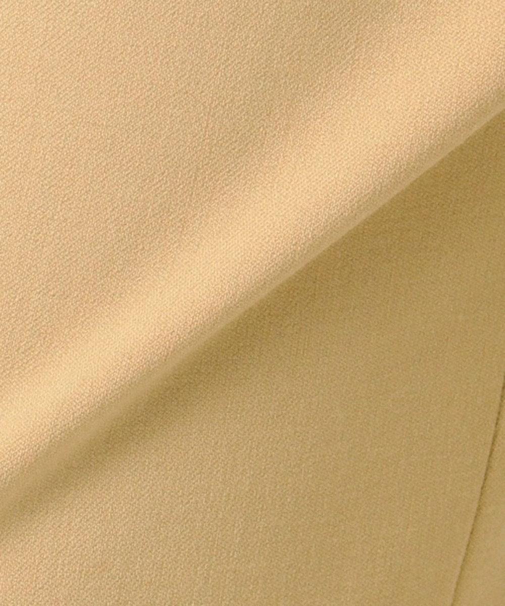 自由区 【亜希さん着用】ウール混2WAYストレッチワイドパンツ(検索番号S47) キャメル