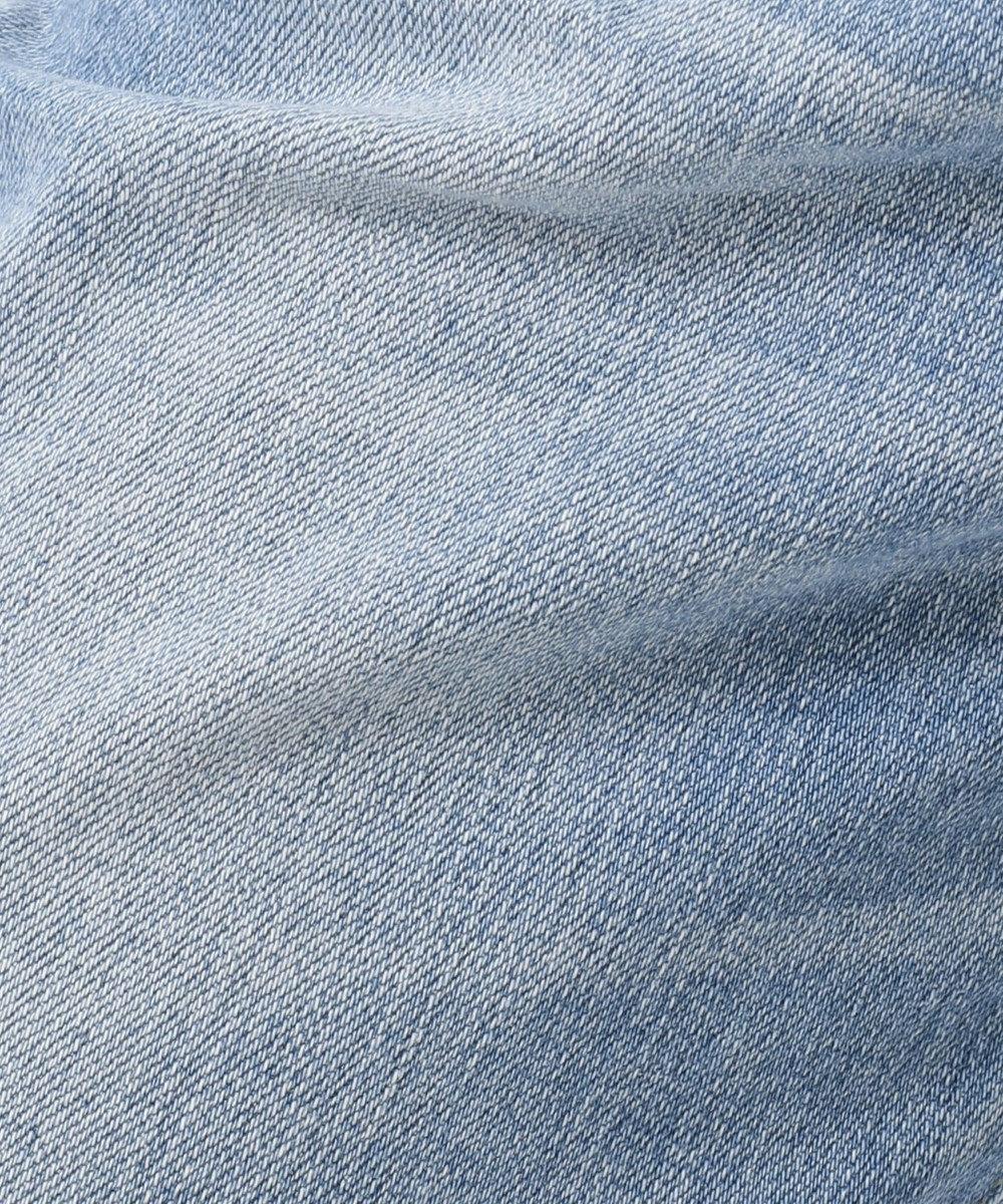 23区 【洗える】23区DENIM ガールフレンド デニムパンツ ウォッシュドブルー