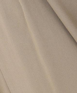 23区 【WEB限定カラーあり/洗える】ドライコットンツイル ワイドパンツ カーキ系