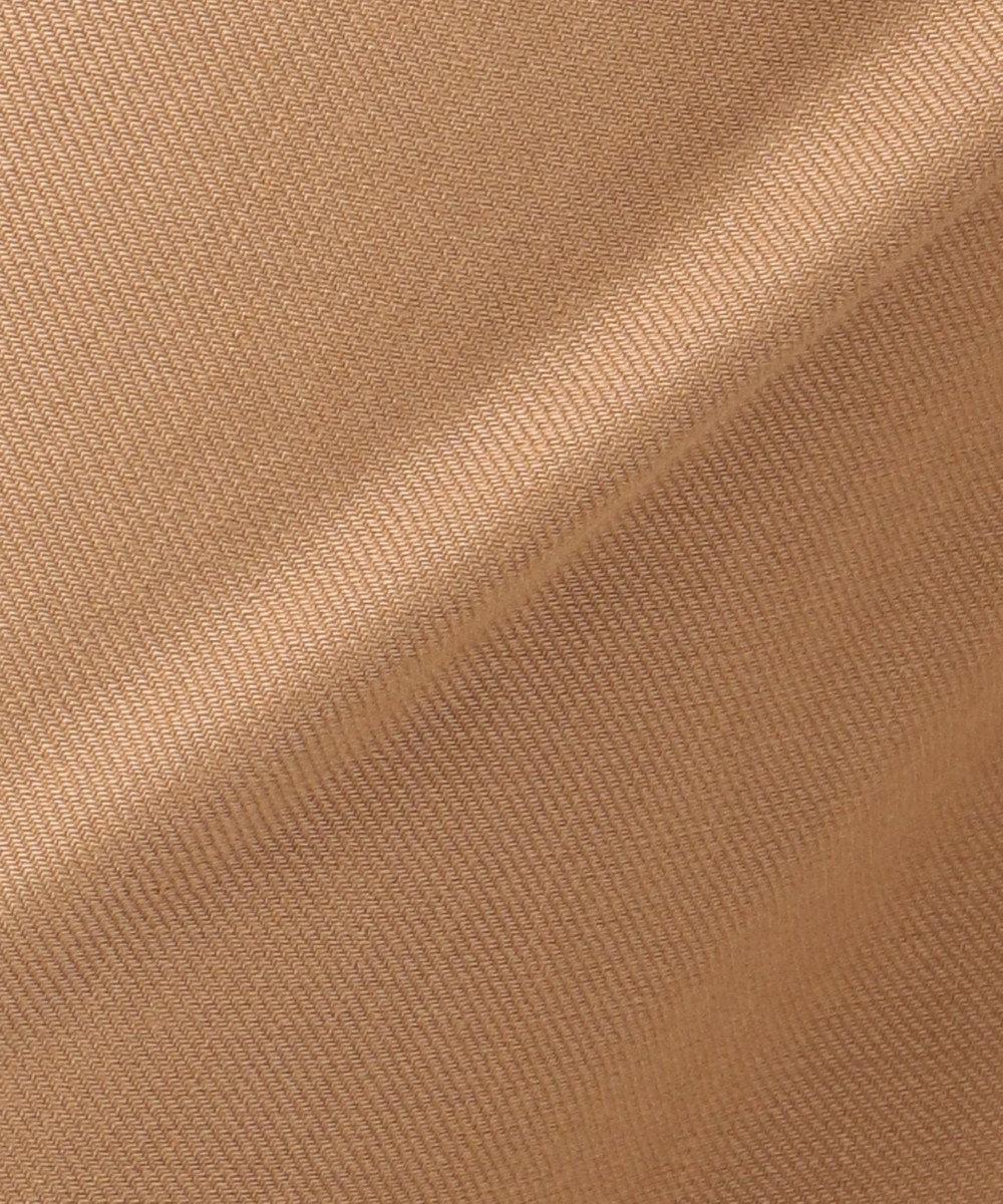 23区 【洗える】Vintege Soft Twill ワイドパンツ キャメル系
