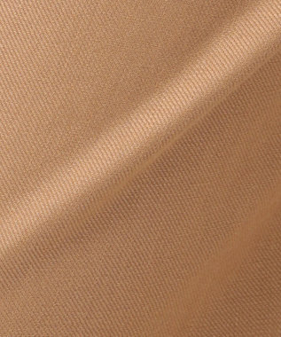 23区 L 【洗える】Vintege Soft Twill ワイドパンツ キャメル系
