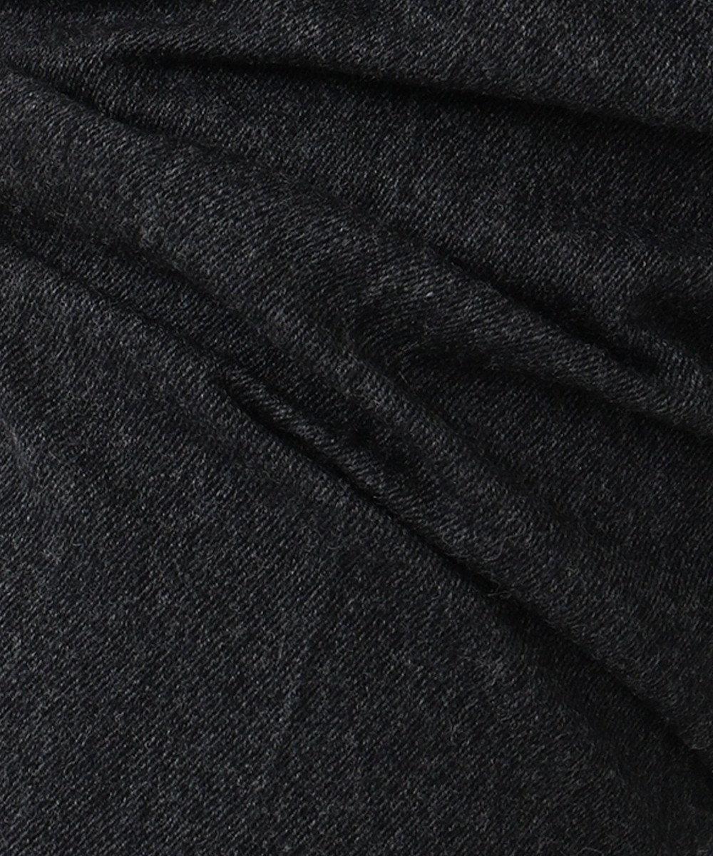 23区 S ペスカラムフランネル テーパード パンツ チャコールグレー系
