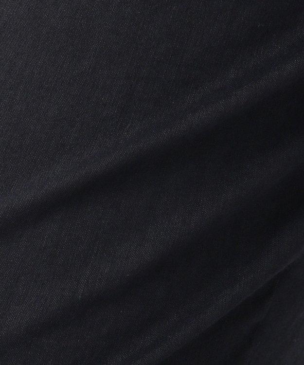 23区 S 【マガジン掲載】リネンヴィスコースストレッチ テーパードパンツ ネイビー系