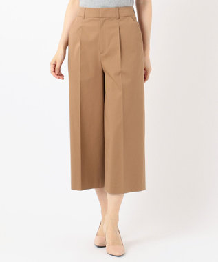 any SiS 【UVケア】クールタッチミラクルガード ワイドパンツ キャメル