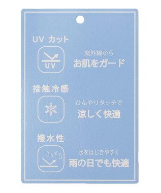 any SiS 【UVケア】クールタッチミラクルガード ワイドパンツ ネイビー