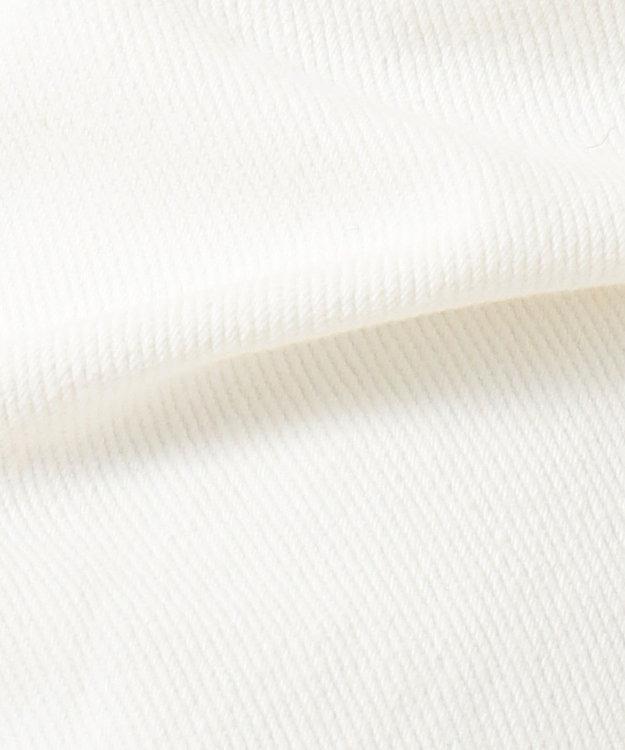 any SiS 【L'aube】Lee テーパードホワイト デニムパンツ