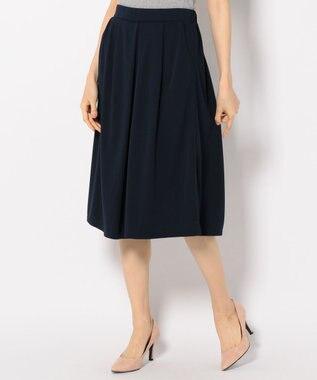 any SiS 【洗える&シワになりにくい】エアリードレープスムース スカーチョ ネイビー系