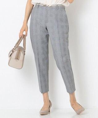 any SiS S 【洗える】レディテーパード パンツ ブラック系2