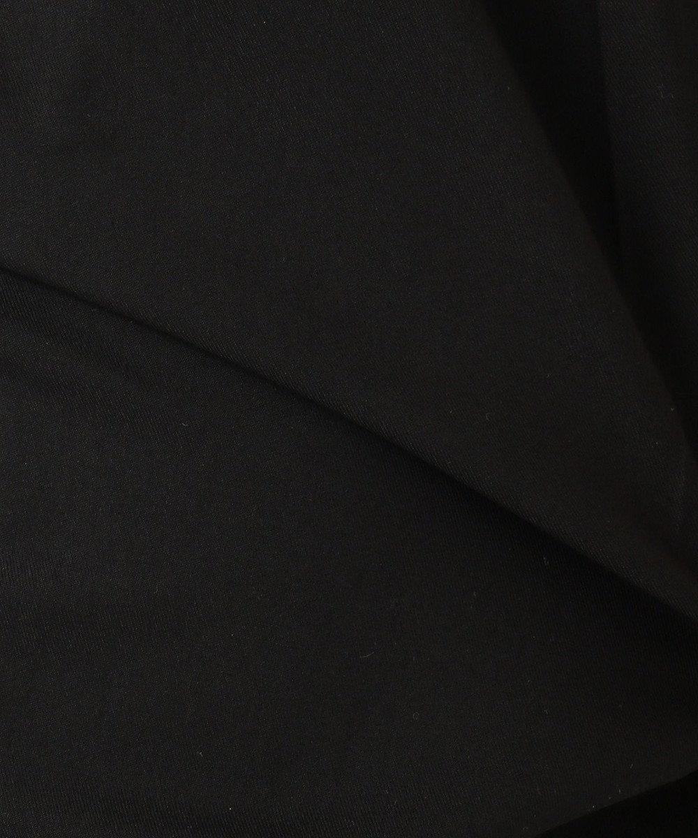 any SiS 【撥水・UVケア】クールタッチテーパードパンツ ブラック系
