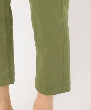 any SiS 【洗える】L'aube ベイカー パンツ カーキ系