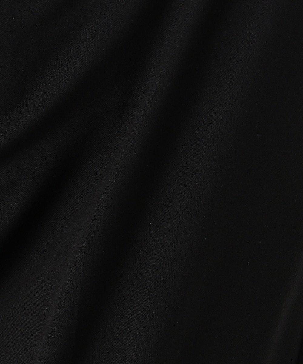 any SiS S 【洗える】イージーケア テーパード パンツ ブラック系