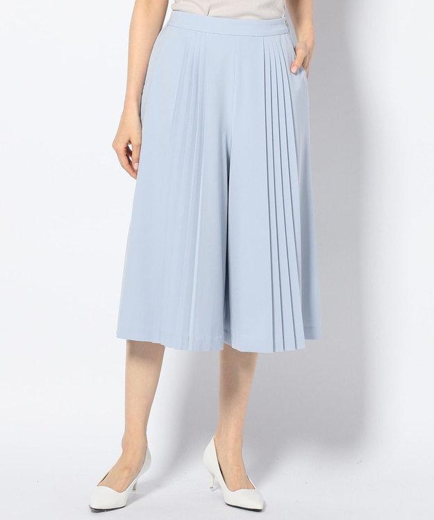 any SiS 【洗える】エレガントプリーツ ガウチョパンツ